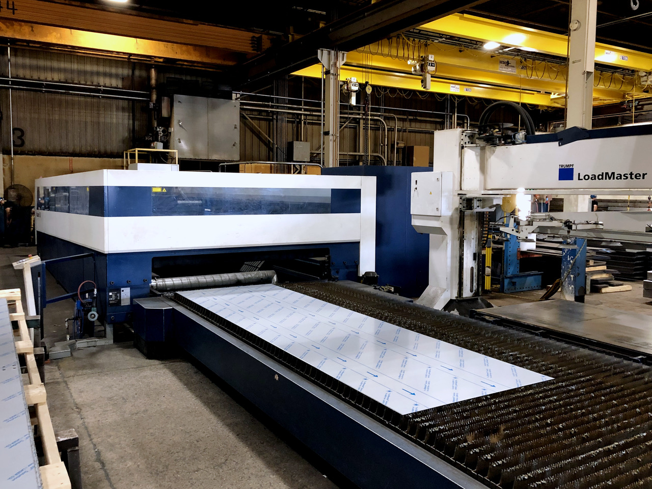 Used Laser Cutting Machine Trumpf Trulaser 5060 2013