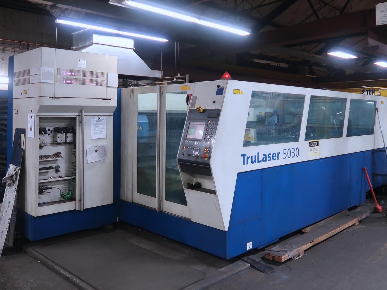 Used Laser Cutting Machine Trumpf Trumatic 5030 2006