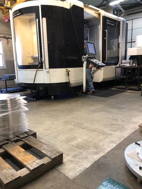 Used 5 Axis Machining Center DMG Mori Seiki DMC 80 FD duoBLOCK 2011