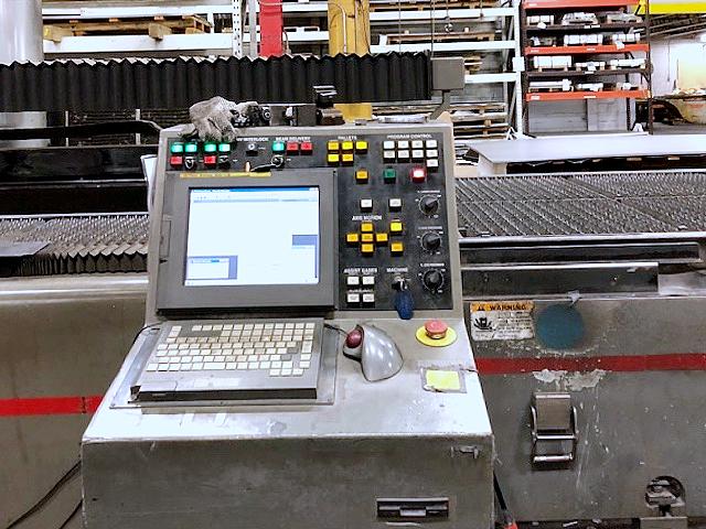 Used Laser Cutting Machine Cincinnati CL-6 2005