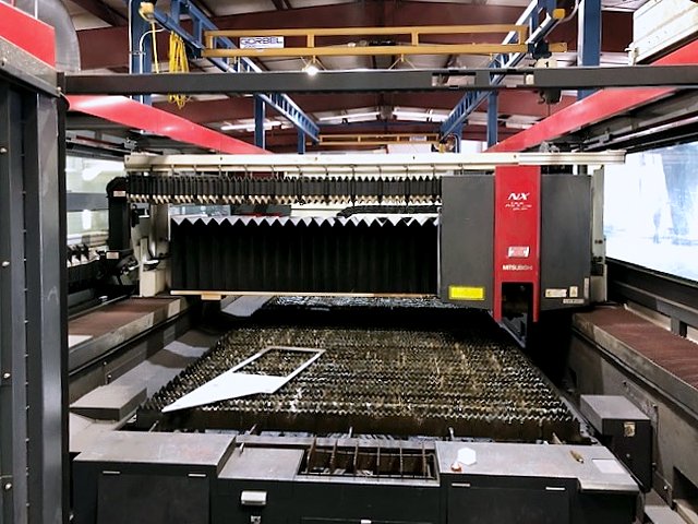 Used Laser Cutting Machine Mitsubishi ML 3015 NX 60XF 2011