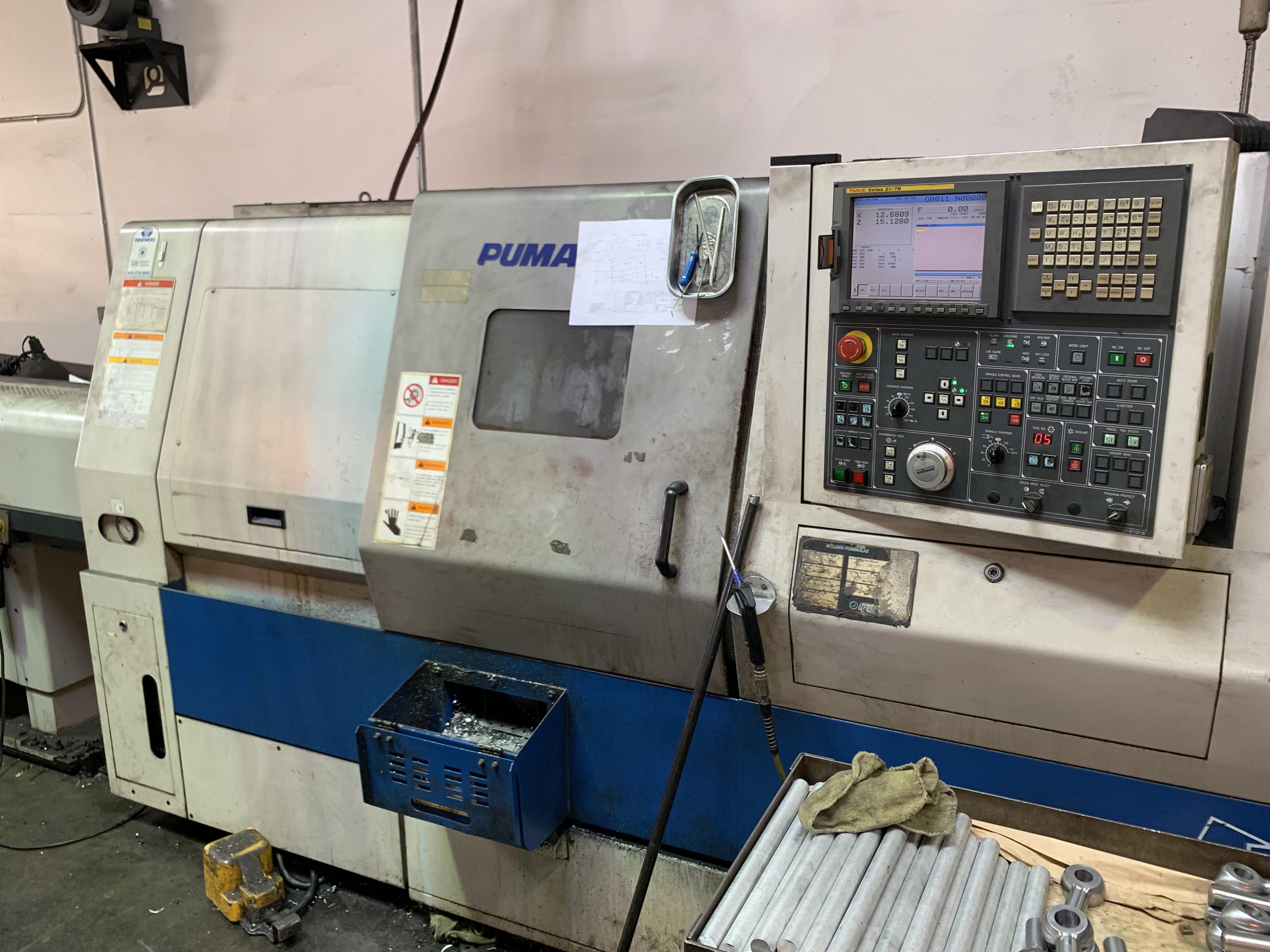 Used CNC Lathe Doosan Puma 240B 2007