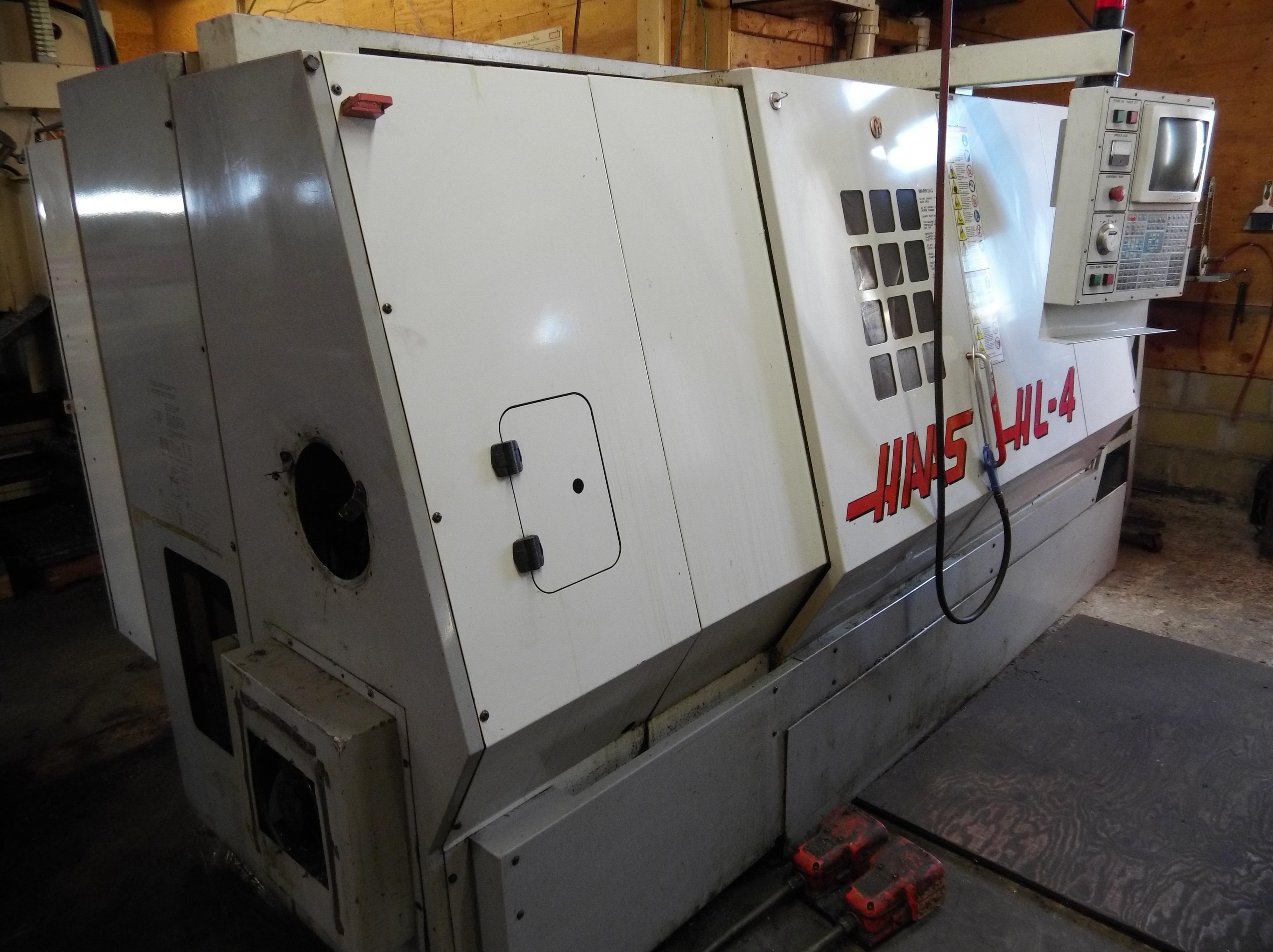 Used CNC Lathe Haas HL-4 1998