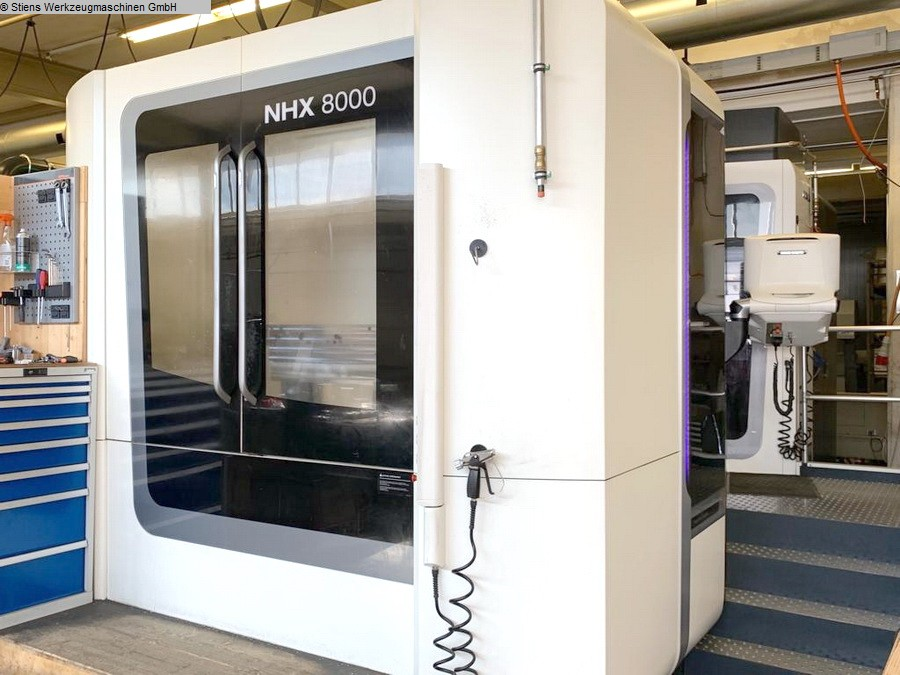 Used Horizontal Machining Center DMG Mori NHX-8000 2016