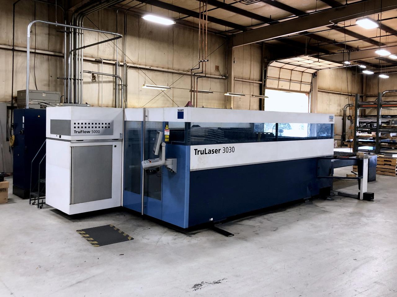 Used Laser Cutting Machine Trumpf TruLaser 3030 2012