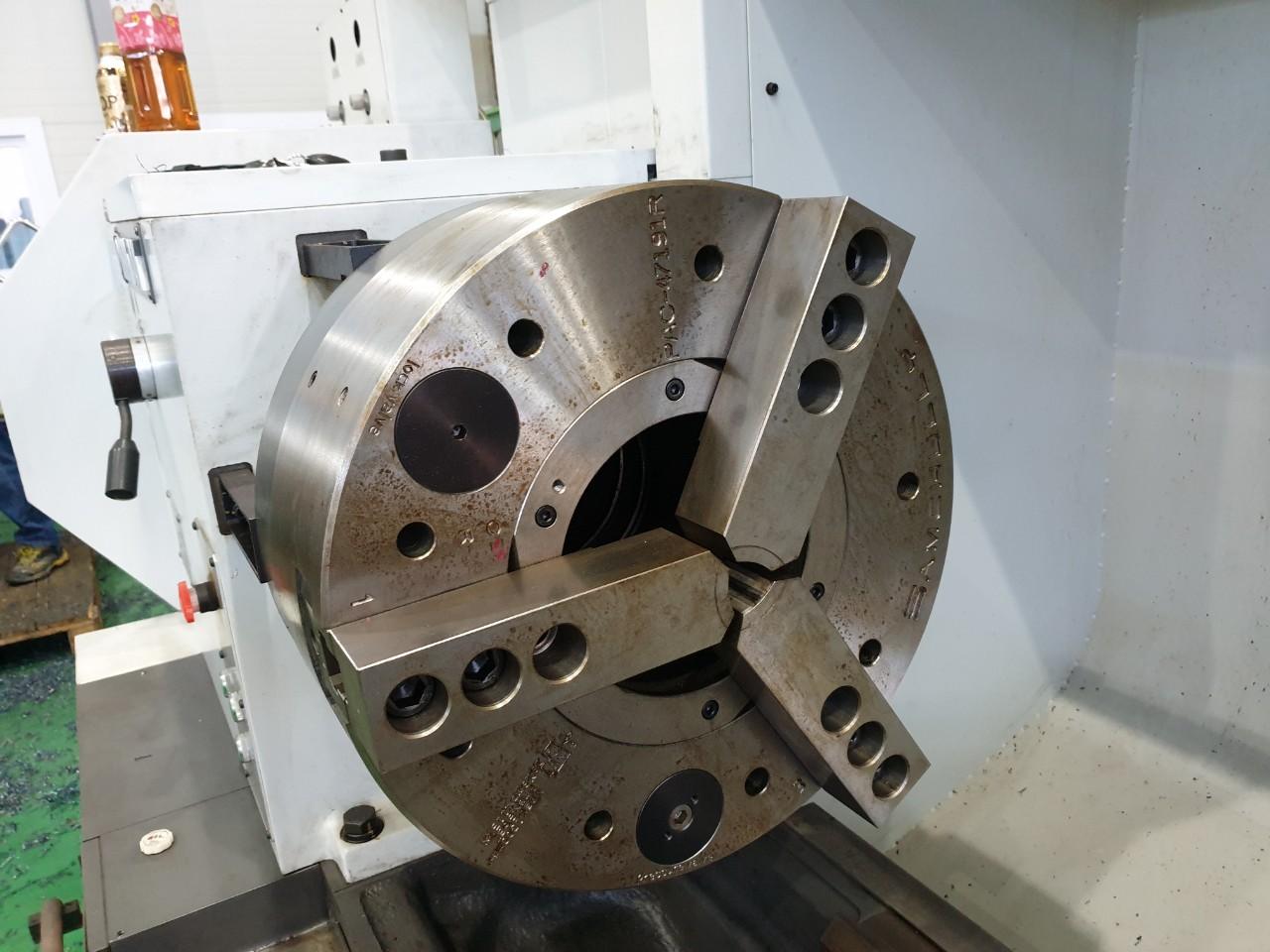 Used CNC Lathe Hankook Protec 7NB x 4000 2016