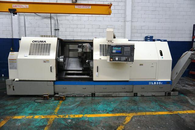 Used CNC Lathe Okuma LB35II 1SC/2000 2001