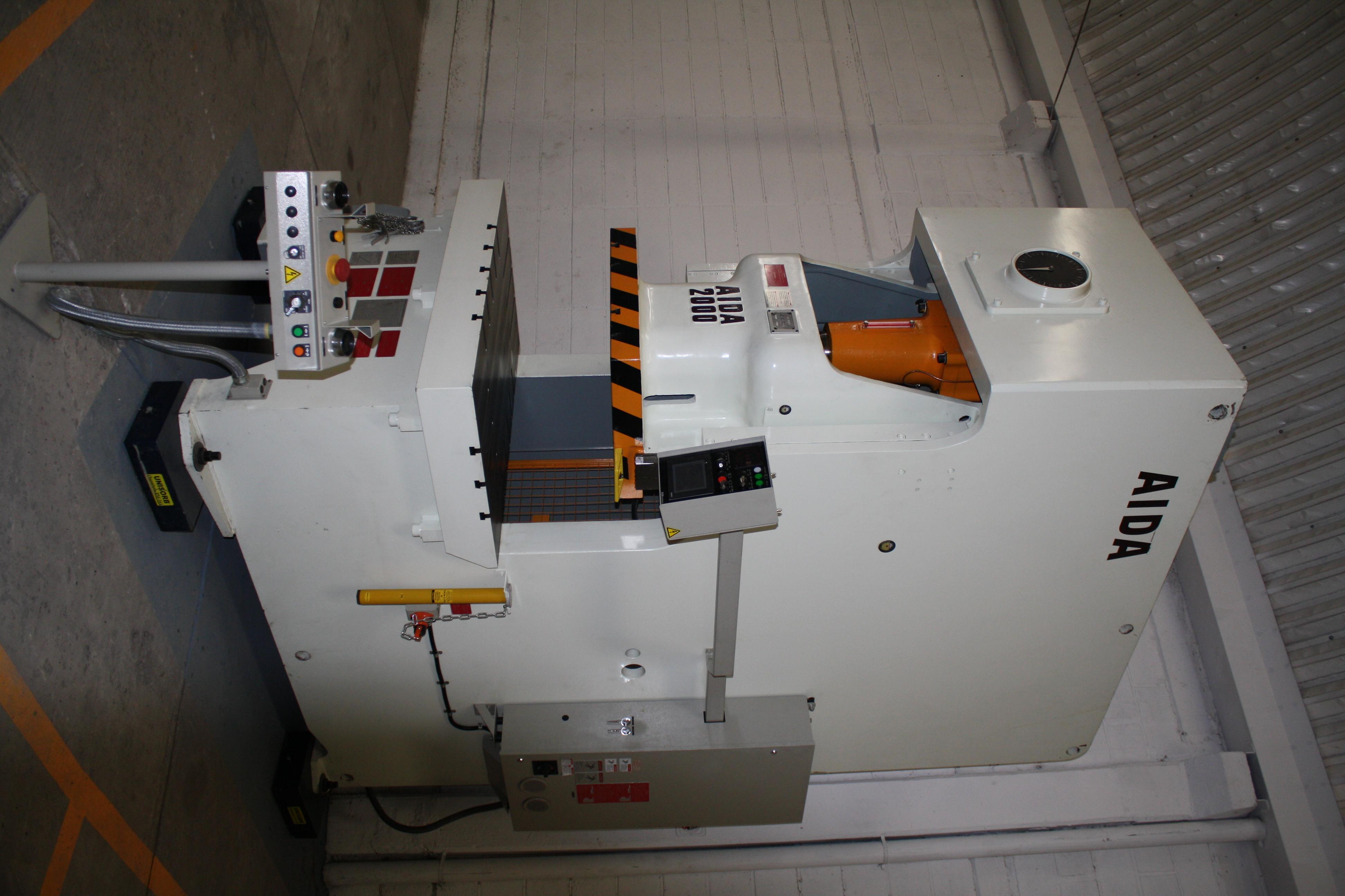 Used Gap Frame Press Aida NC1-2000 2018
