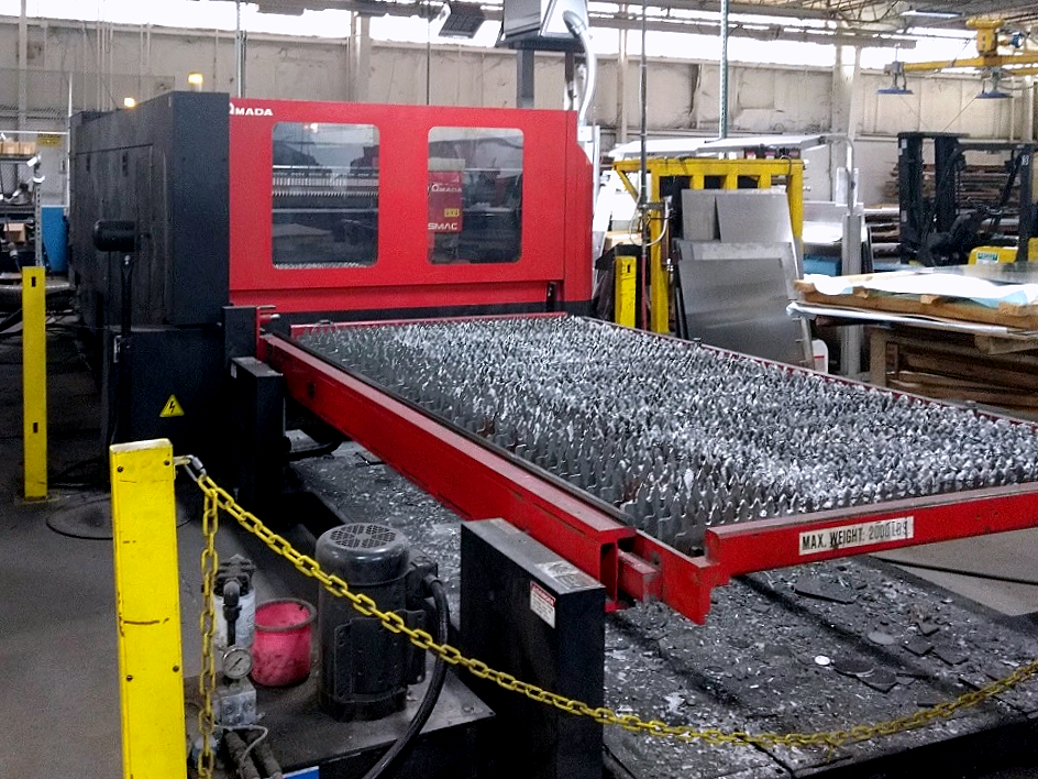Used Laser Cutting Machine Amada FO3015 NT 2009