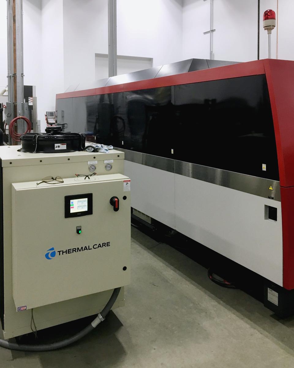 Used Laser Cutting Machine Mitsubishi ML 3015 NX F-40 Fiber 2014