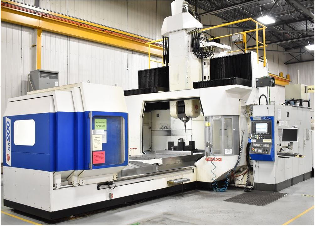 Used Vertical Machining Center Huron KX200 2007