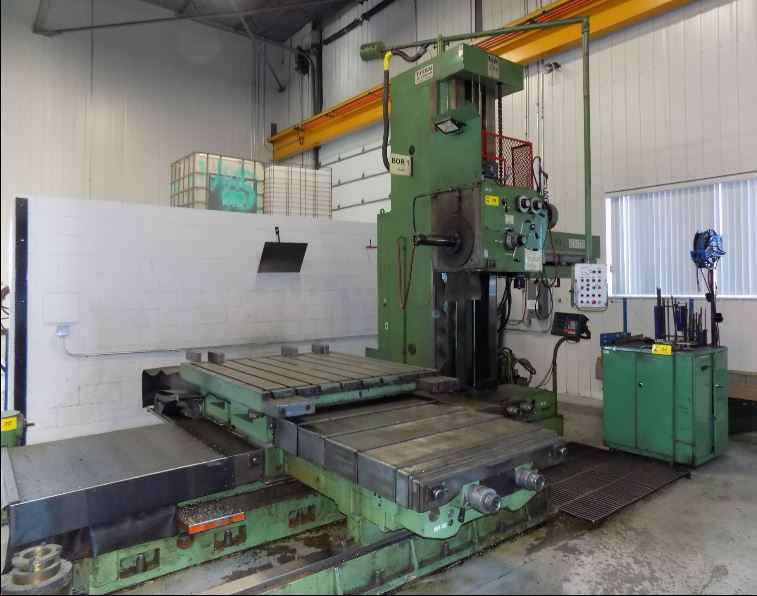 Used Horizontal Boring Mill Titan AFD105-H 1997