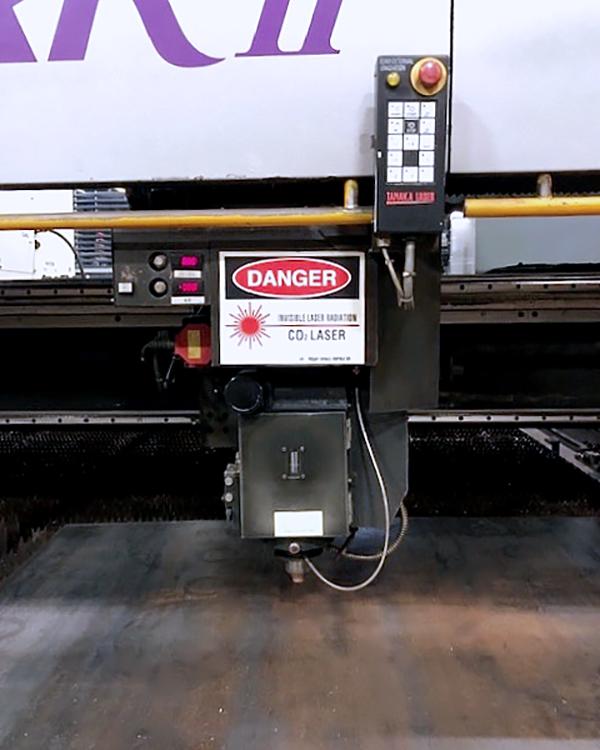 Used Laser Cutting Machine Tanaka LMXR II 4000IB 2008