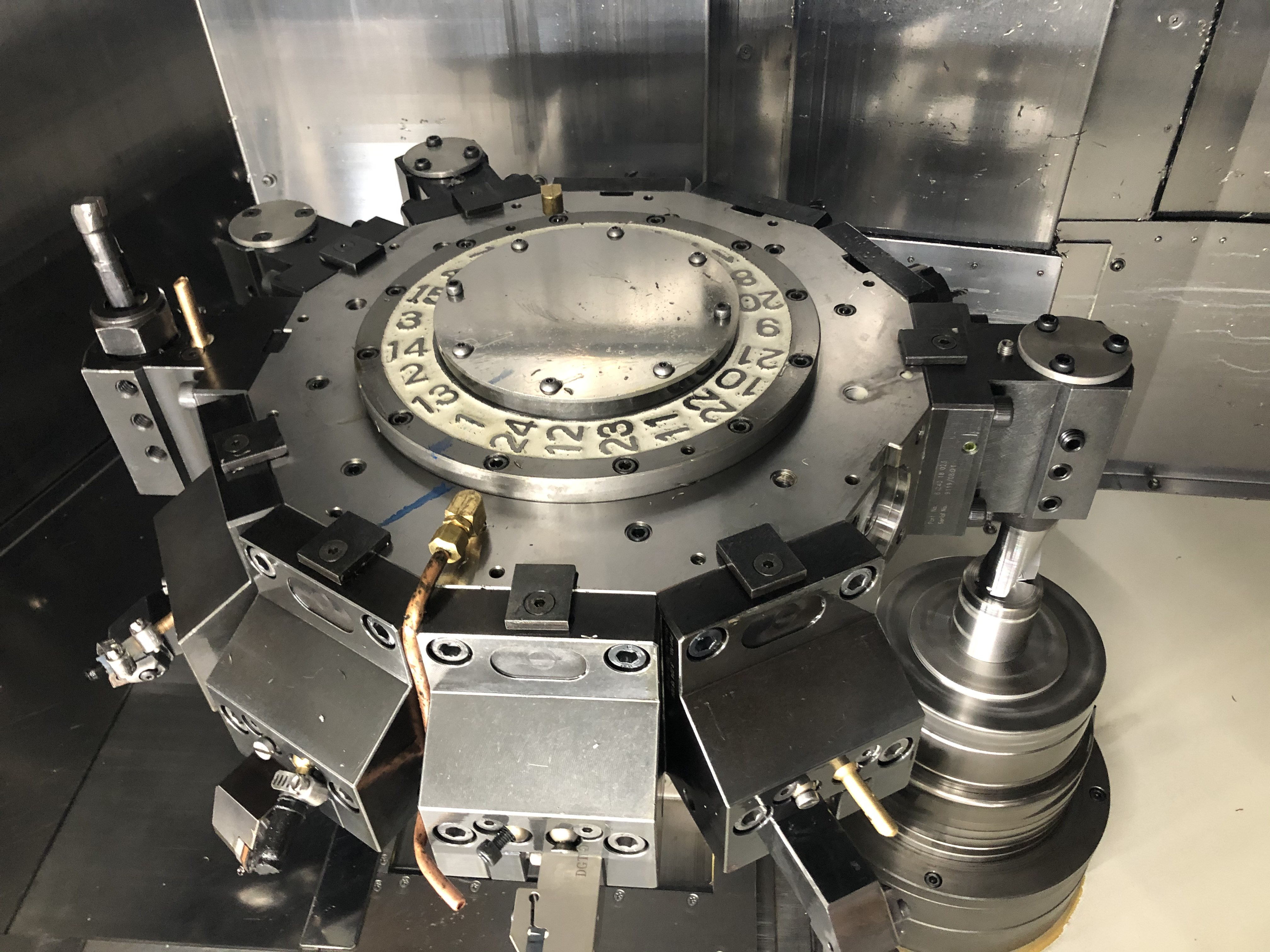 Used CNC Lathe Nakamura-Tome Super Mill WY-250 2011