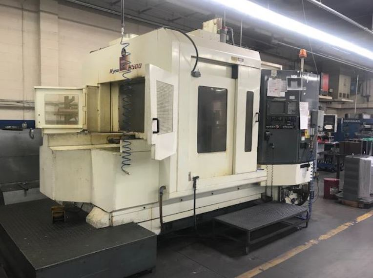 Used Horizontal Machining Center Kitamura MyCenter H500C 1999