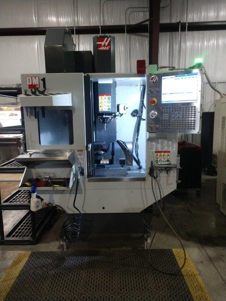 Used 5 Axis Machining Center Haas DM-1 2017