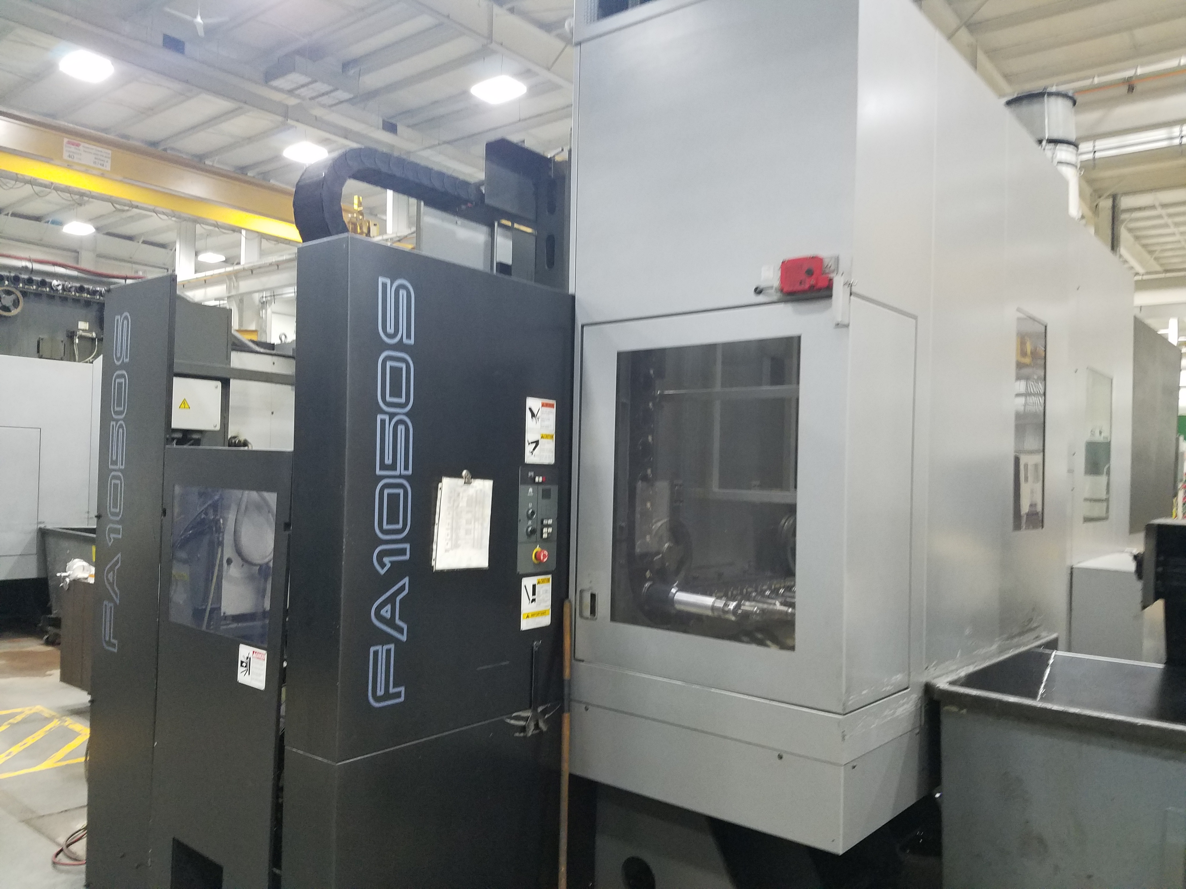 Used Horizontal Machining Center Toyoda FA1050S installed 2011
