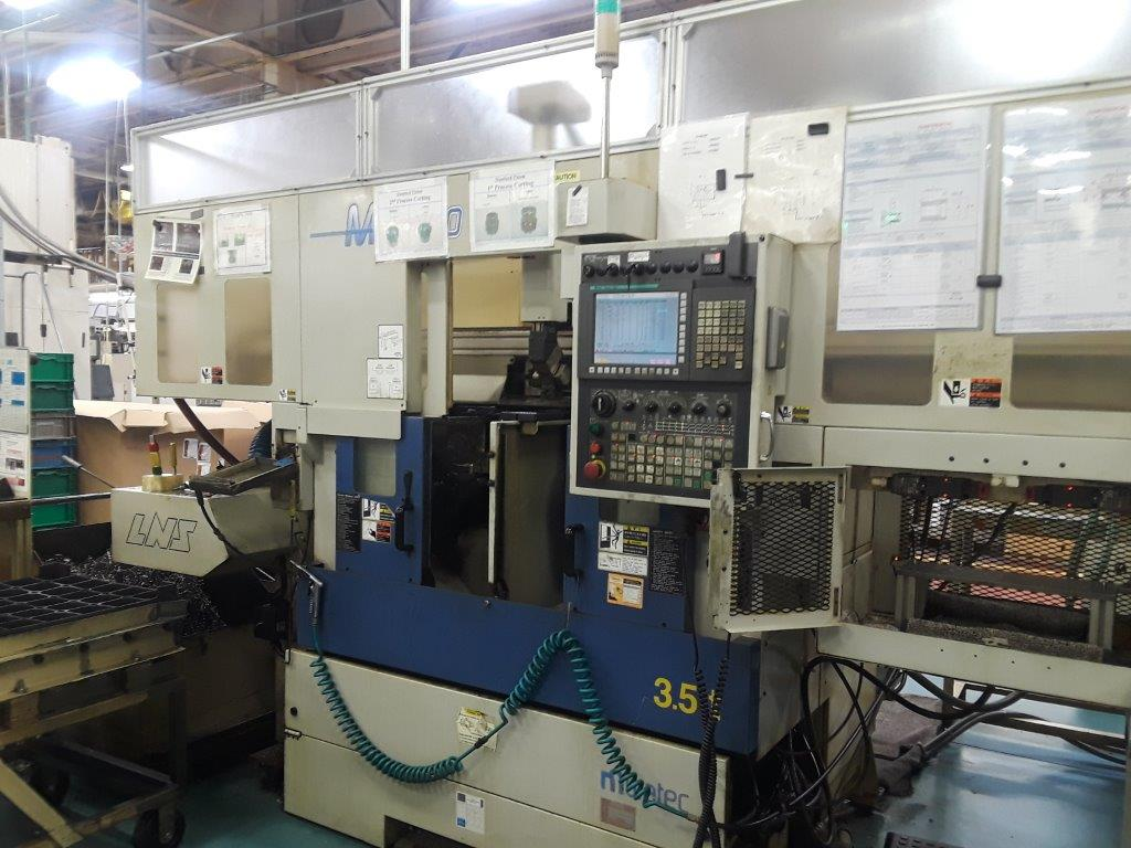 Used Dual Spindle Lathe Muratec MW100 2011