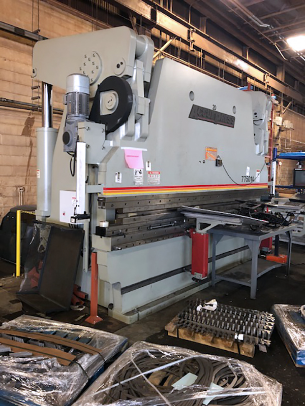 Used Hydraulic Press Brake Accurpress 775014 2016