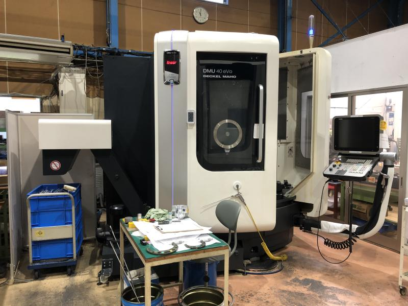 Used 5 Axis Machining Center DMG Mori DMU 40 eVo 2014