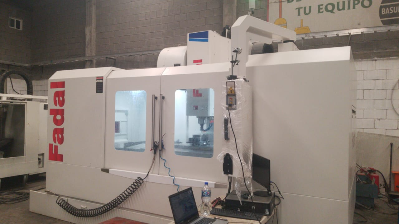 Used Vertical Machining Center Fadal VMC-6030B-II 2019