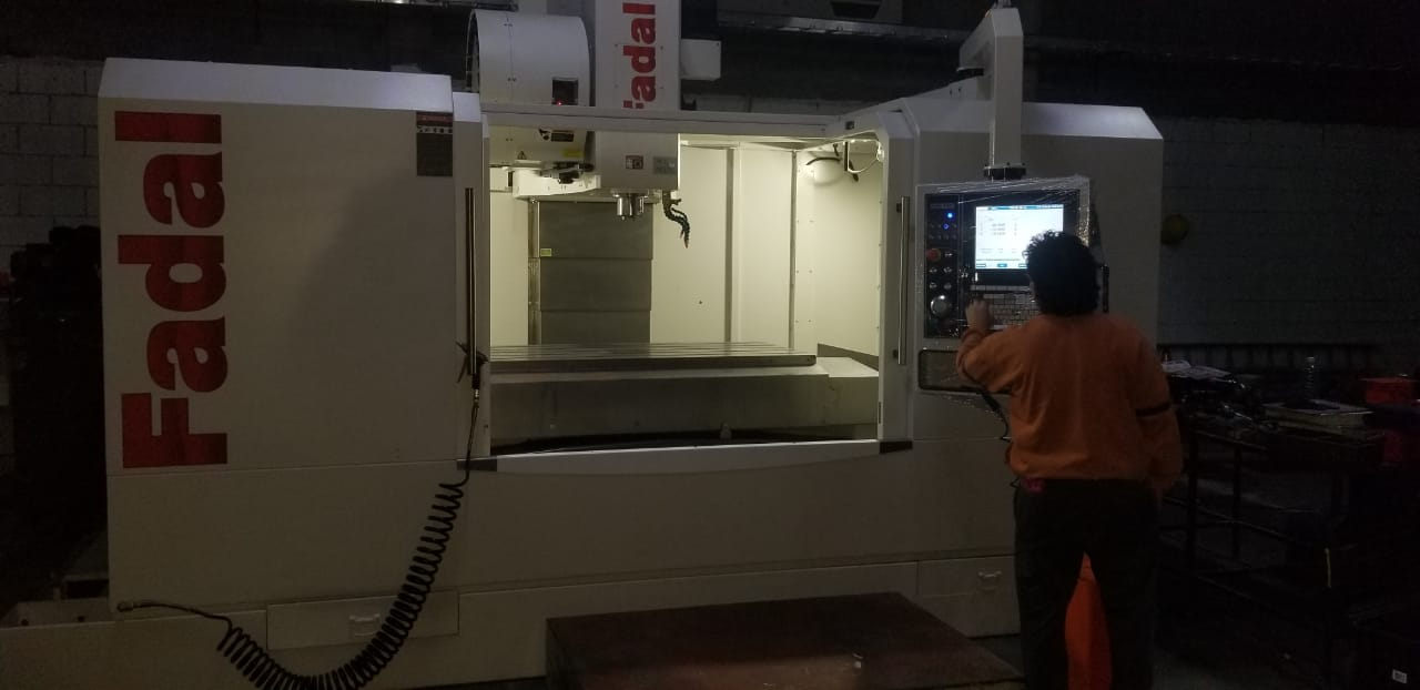 Used Vertical Machining Center Fadal VMC-6030B-II 2019