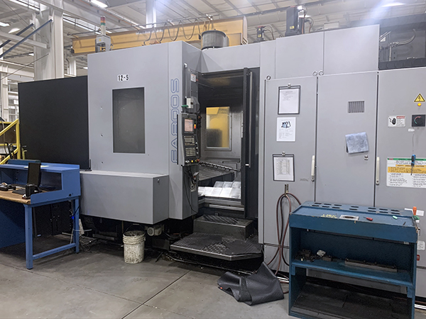 Used Horizontal Machining Center Toyoda FA-800S