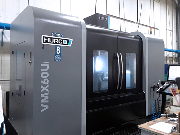 Used 5 Axis Machining Center Hurco VMX60Ui 2015