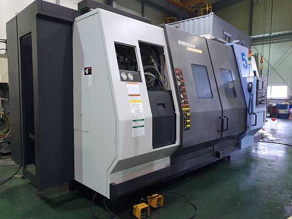 Used CNC Turning Center Doosan Puma MX2500LST 2008
