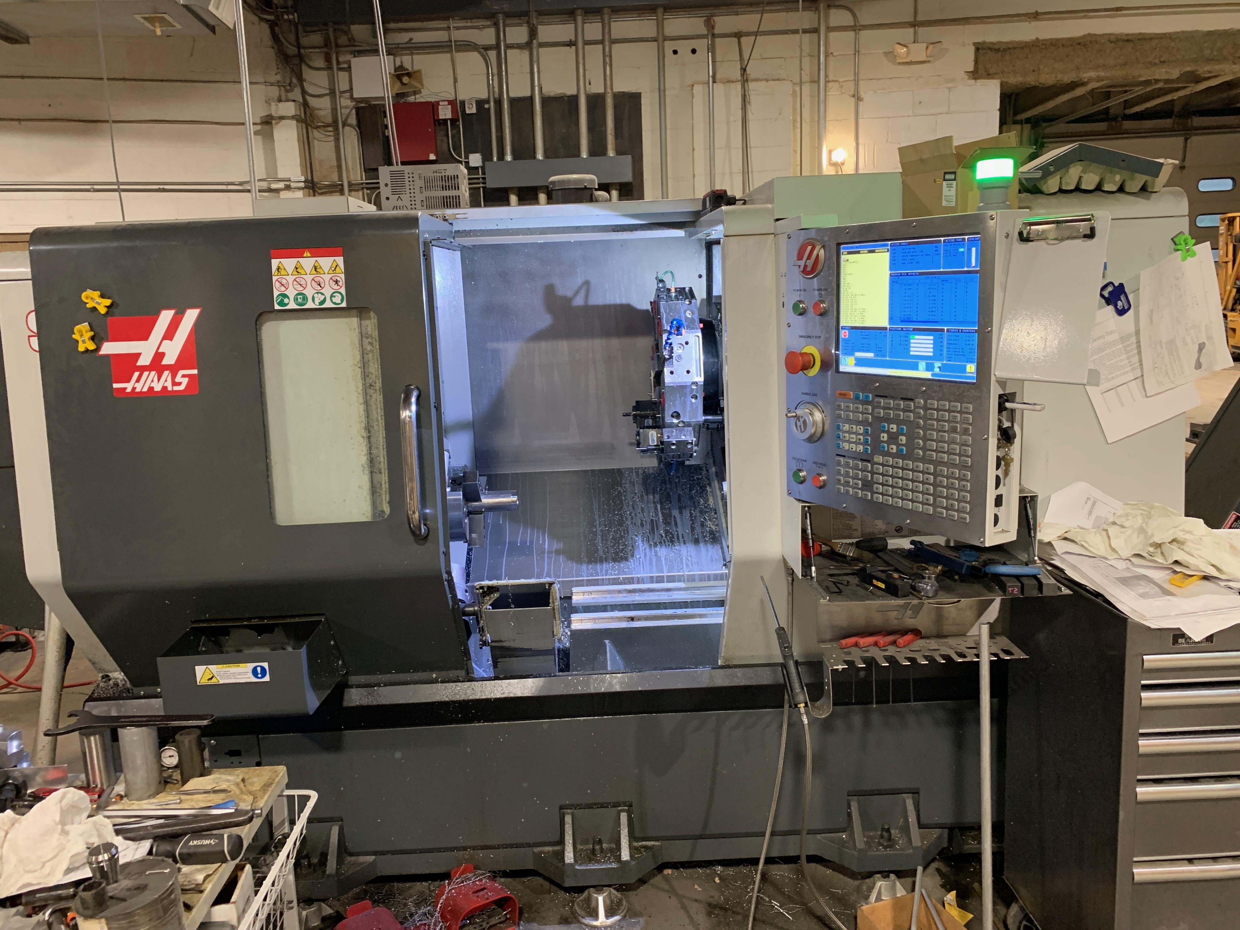 Used CNC Lathe Haas ST-20Y 2016
