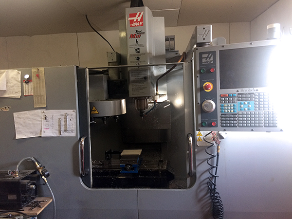 Used Vertical Machining Center Haas TM-1P 2008