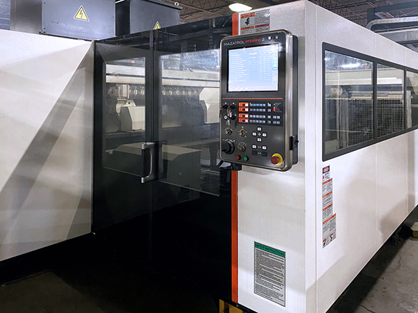 Used Laser Cutting Machine Mazak Optiplex 3015 2012