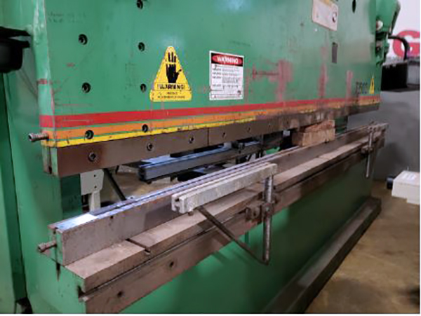 Used Hydraulic Press Brake Accurpress 725012 1993
