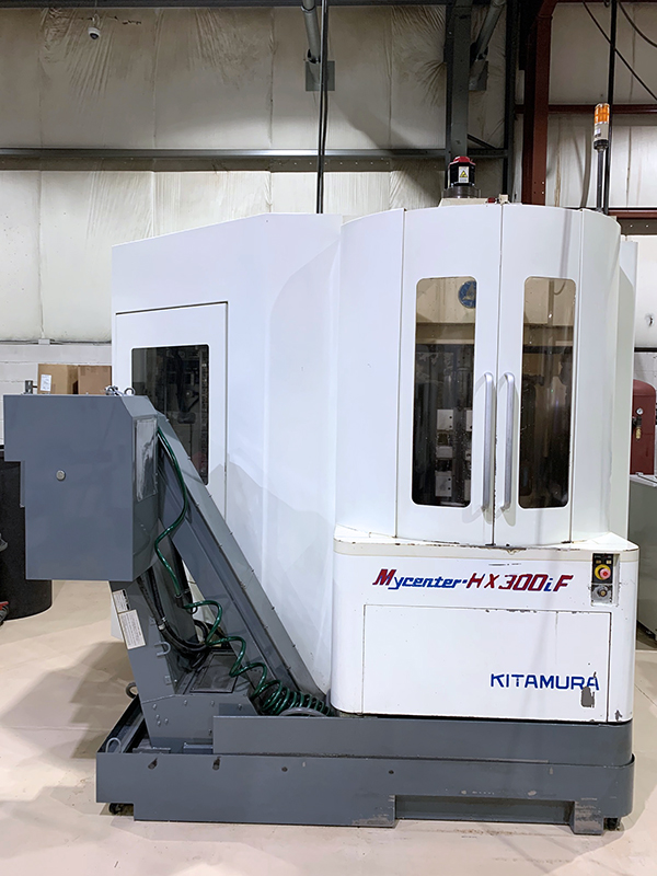 Used Horizontal Machining Center Kitamura Mycenter HX300iF 2004