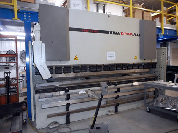Used Hydraulic Press Brake Durma HAP37160 2004