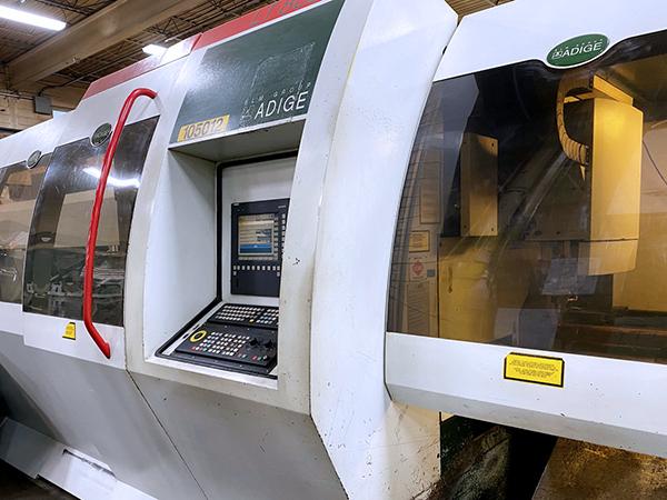 Used Laser Cutting Machine BLM ADIGE LT-803D 2004