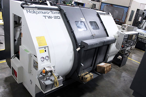 Used Multi Axis CNC Lathe Nakamura-Tome TW-20MMY 2003
