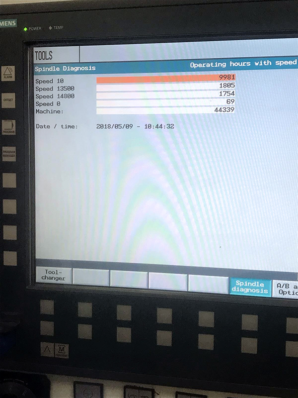 Used Vertical Machining Center Spinner VC 360 2009