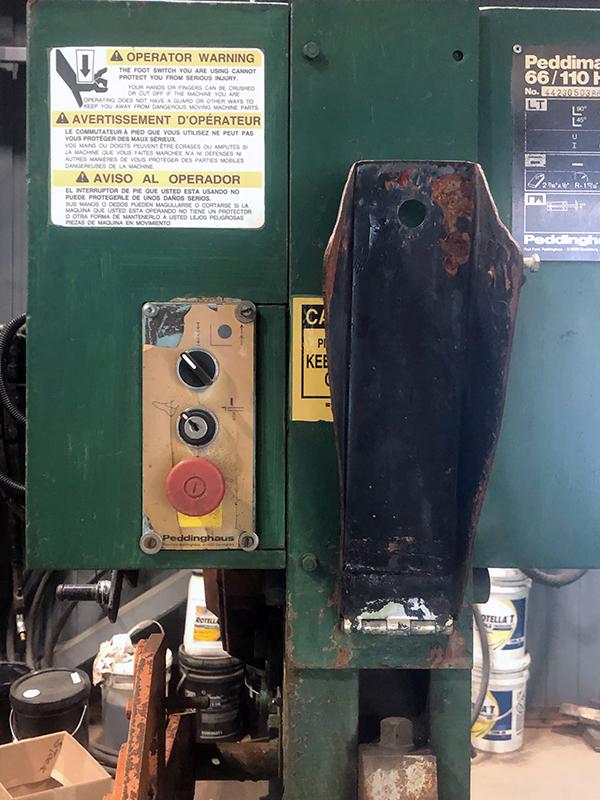 Used Ironworker Peddinghaus Peddimaster 66/110H