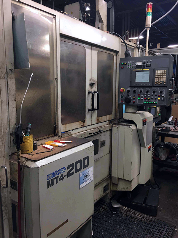 Used CNC Multi-Spindle Lathe Kitako MT4-200 2005