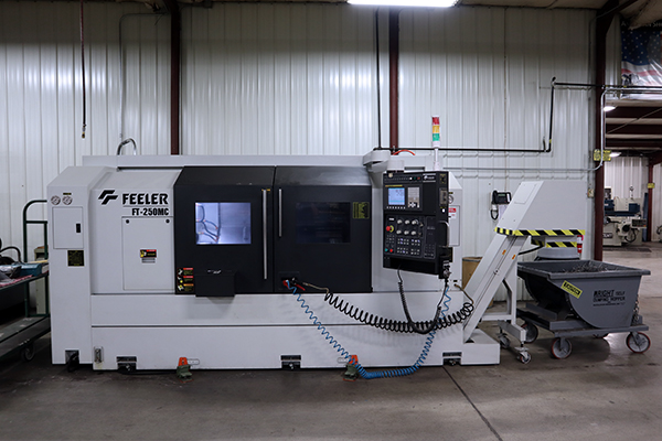 Used CNC Lathe Feeler FT-250MC 2015