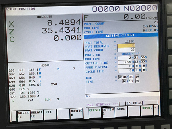 Used CNC Lathe Doosan Puma 480 XLM 2013