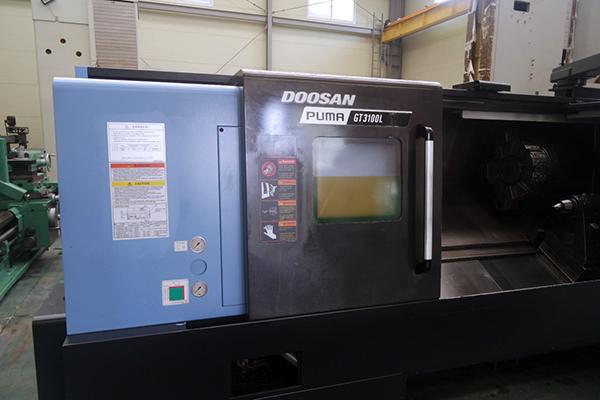 Used CNC Lathe Doosan Puma GT3100L 2016