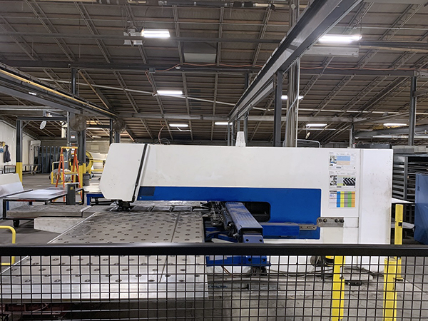 Used Turret Punch Trumpf TRUMATIC 500 1998