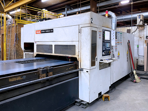 Used Laser Cutting Machine Mazak Hyper Turbo-X 510 2007