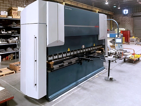 Used Hydraulic Press Brake Durma ADS-37220 2007