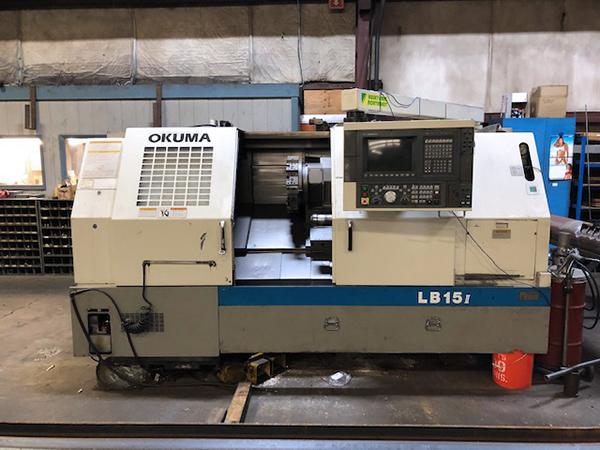 Used CNC Lathe Okuma LB15II 1997