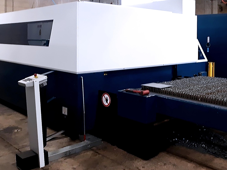 Used Laser Cutting Machine Trumpf TruLaser 3030 Fiber 2018
