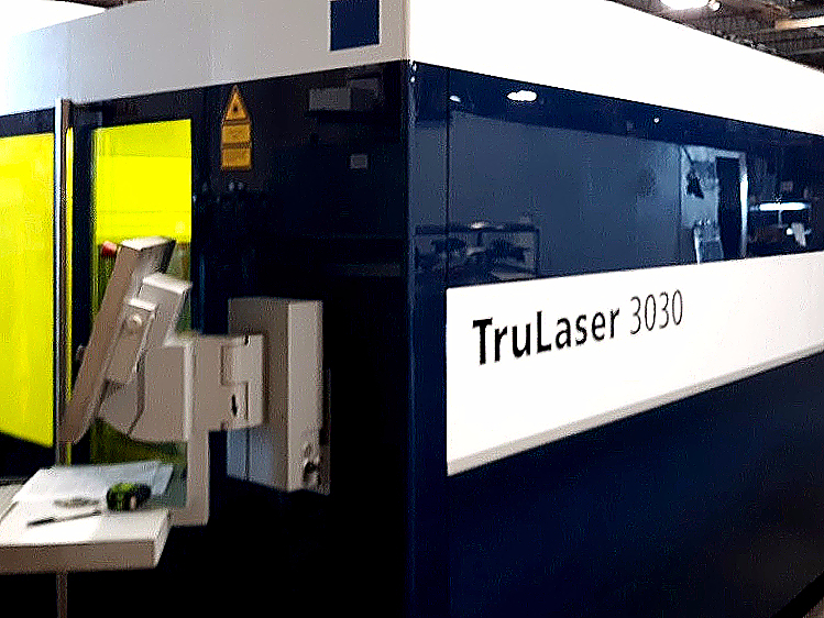 Used Laser Cutting Machine Trumpf TruLaser 3030 Fiber 2018
