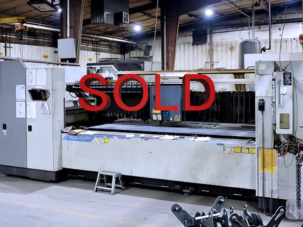 Used Laser Cutting Machine Mitsubishi ML3015LVP 2005